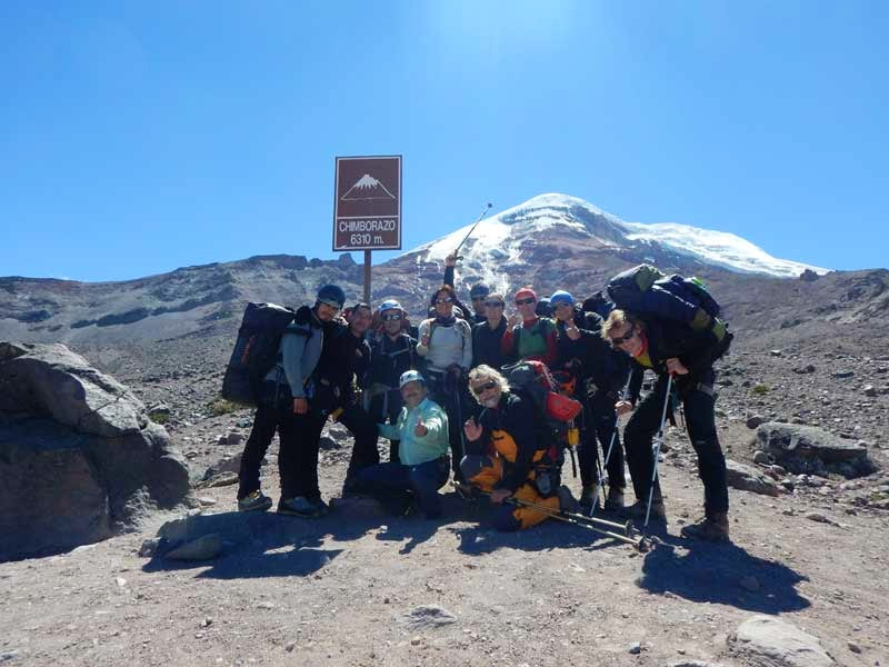 Base of Chimborazo