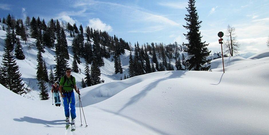 Ski in Triglav National park