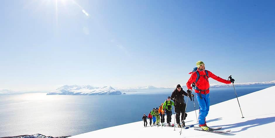 Lyngen Alps with Jimmy