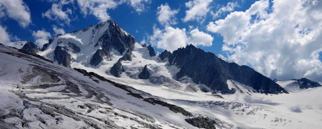 Mt. Blanc range