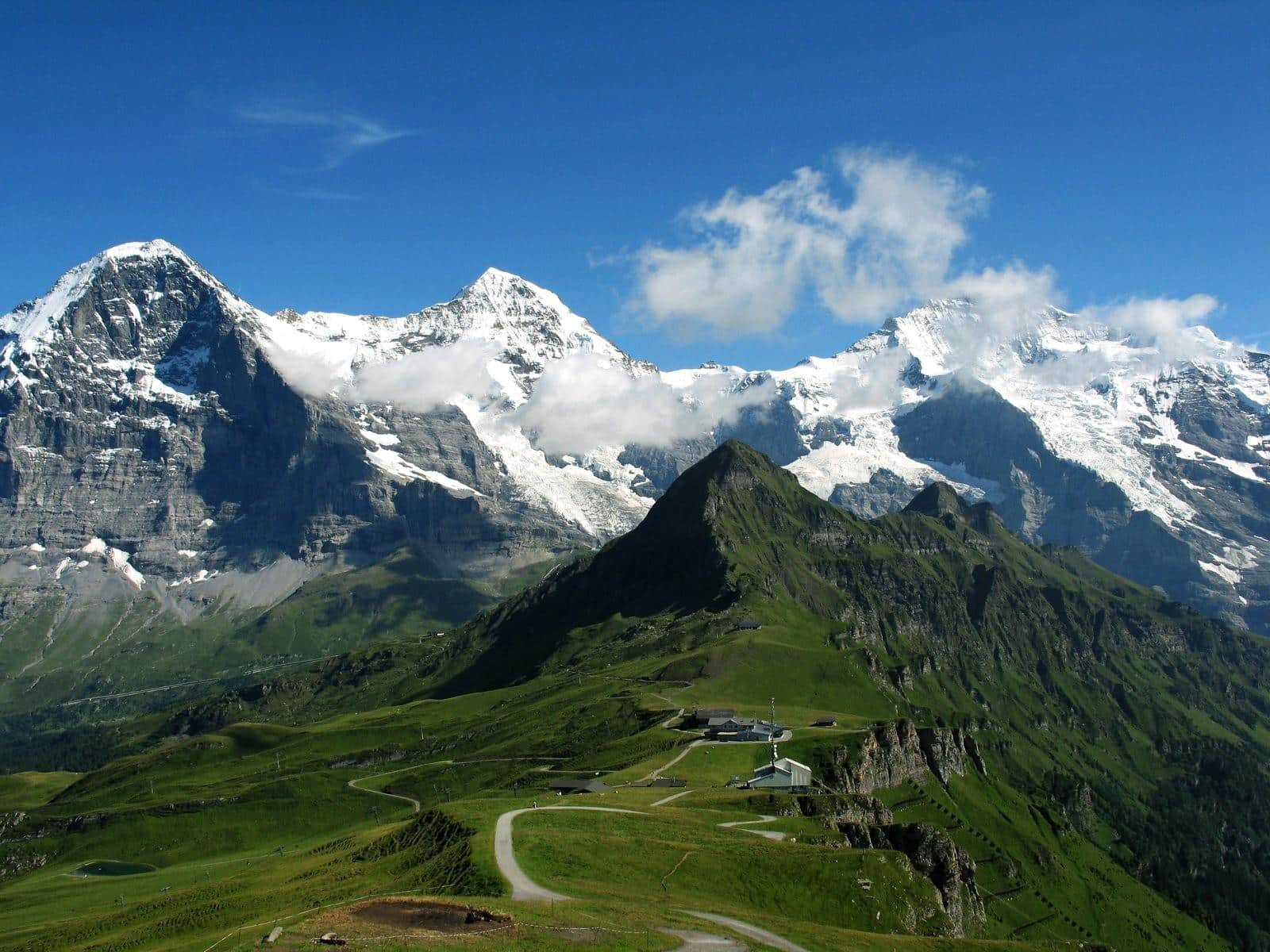 Eiger, Mönch and Jungfrau 4-day ascent. 4-day trip. IFMGA