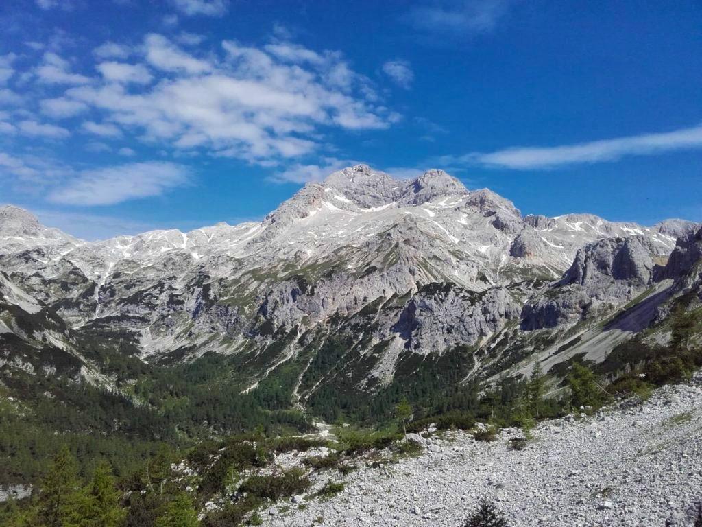 Mount Triglav from Bohinj