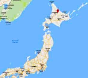 Teshiodake map