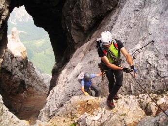 Slovenia via ferrata