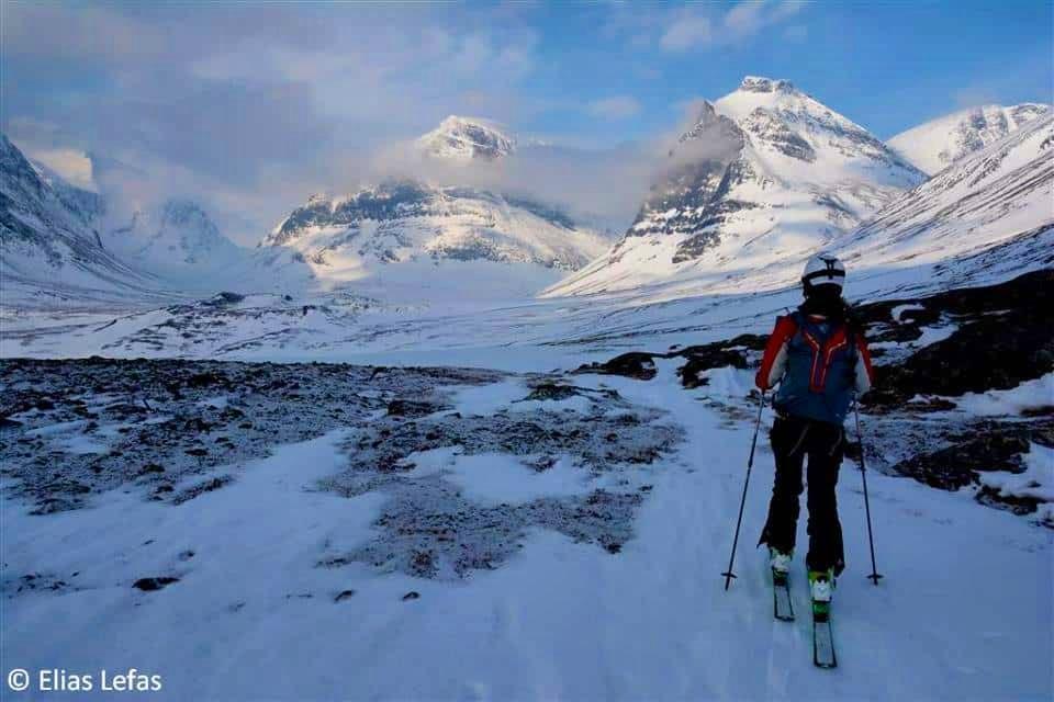 Ski touring in Greece