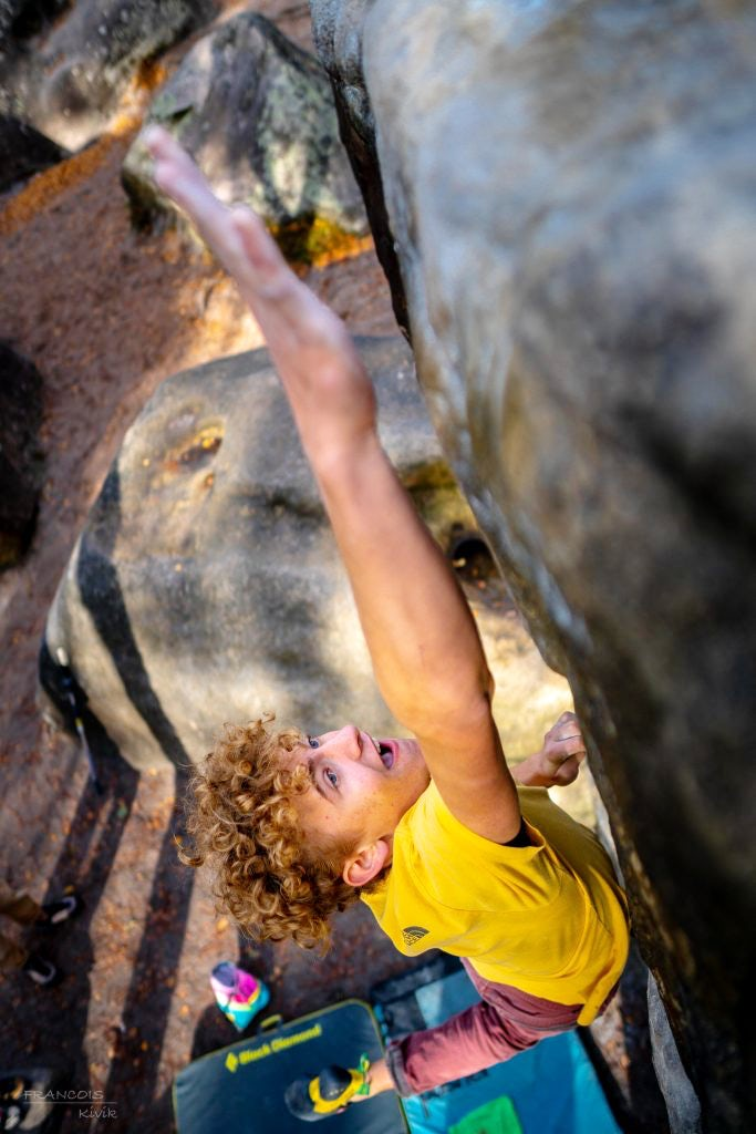 Bouldering in Fontainebleau