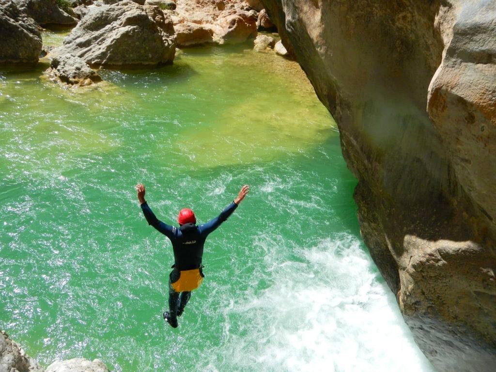 canyoning sierra de guara - Yann Alcubilla