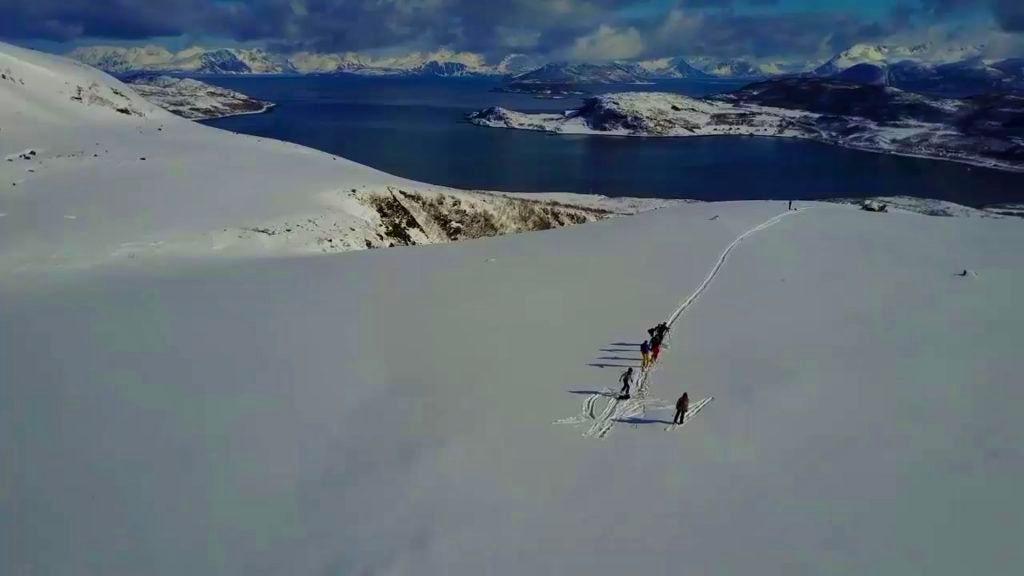 Ski touring in Uloya