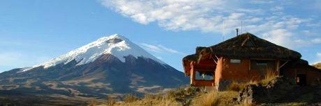 Hiking in South America.