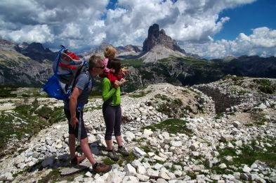 Family friendly hikes.