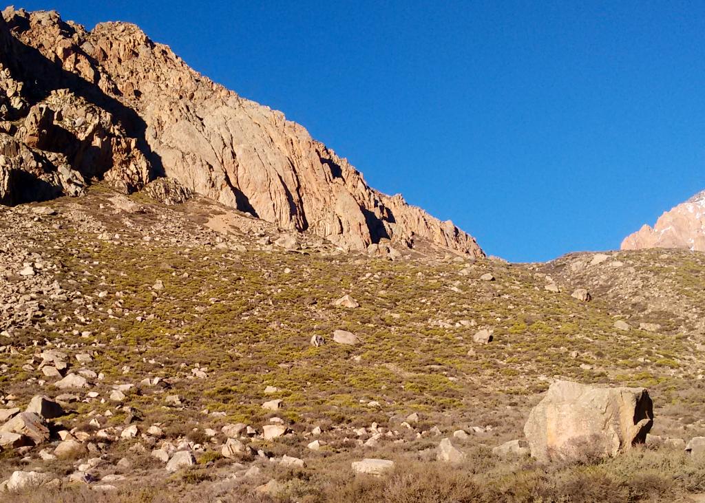 Cordón del Portillo, Mendoza