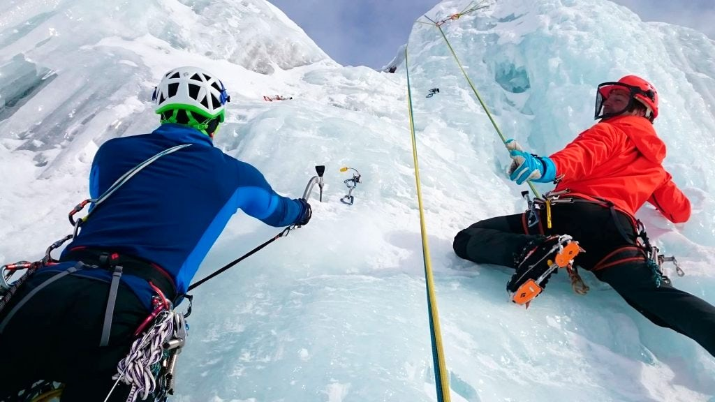 Mendoza ice climbing